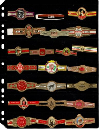 CIGAR BANDS..    .. ALL DIFFERENT ( OFFER (M321)*