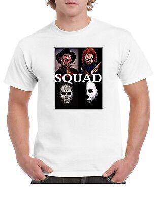 Halloween Squad Horror T Shirt, Gift Idea](Horror Halloween Ideas)
