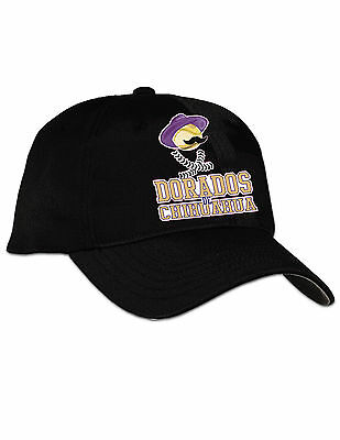 Dorados De Chihuahua Baseball  CAP Color Black