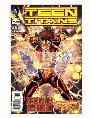 Teen Titans #25 (2014, DC) NM- New 52 The Origin of Kid Flash! Tyler Kirkham