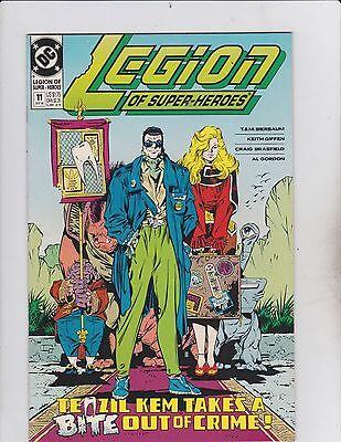 DC Comics! Legion of Super-Heroes! Issue 11!