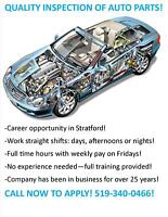 Entry Level - Automotive Parts Inspectors Needed - CALL TODAY!