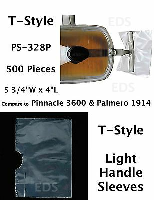 T-style Dental Light Handle Covers Sleeves For T-shape Handles Ps-328p 500 Pcs