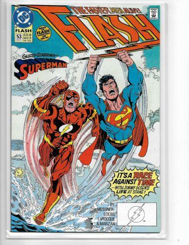 Flash #53 // Race against Superman