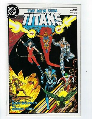 The New Teen Titans # 1 DC VF/NM or Better 1984
