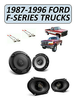 NEW for FORD F-SERIES TRUCKS 1987-1996 Factory Speakers Replacement Kit, PIONEER