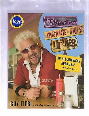 Diners Drive Ins   Dives  An All American Road Trip Cookbook By Guy Fieri  2008