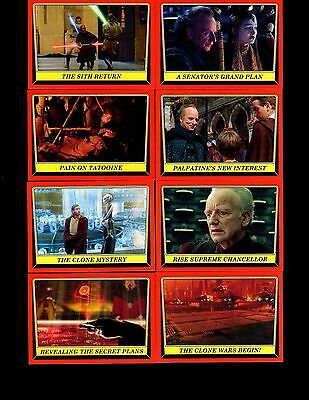 2016 Star Wars Rogue One : Mission Briefing 110 card base set & wrapper
