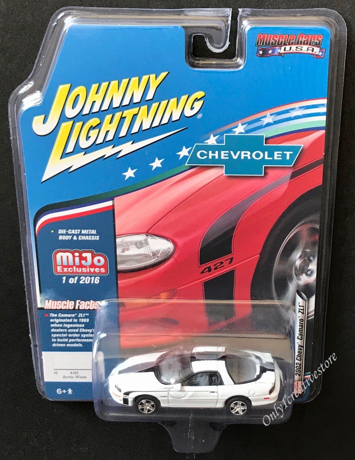 Johnny Lightning *2002 Chevy Camaro ZL1* 1:64 Diecast Car -
