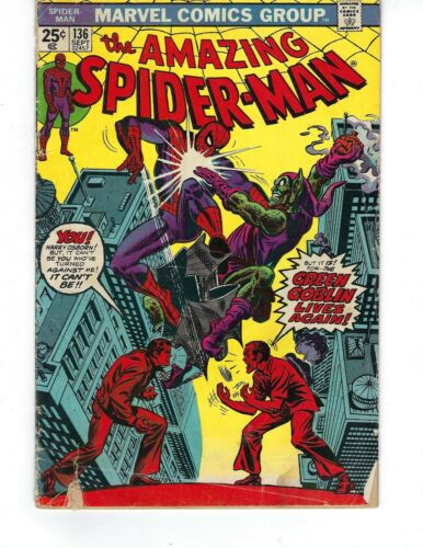 Amazing Spider-Man #136 - The Green Goblin Lives Again!
