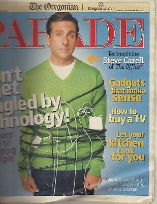 Steve Carell Parade Magazine 11 19 06 Sarah Mclachlan