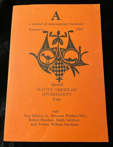NATIVE AMERICAN SOVEREIGNTY JOURNAL OF CONTEMPORARY LITERATURE