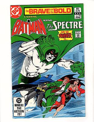 The Brave and the Bold #199 (1983, DC) NM- Batman The Spectre Jim Aparo