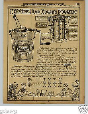 1929 PAPER AD 10 PG White Mountain Hibbard Ice Cream Maker Freezer Parts Repair