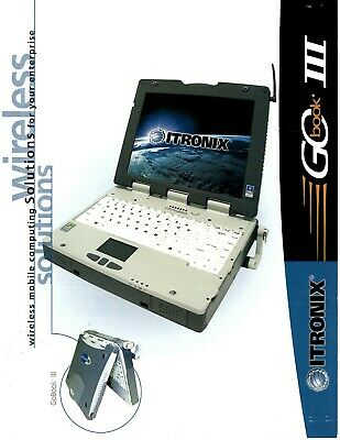 Lot of (4) General Dynamics Itronix IX260+ Rugged Laptop PC Touchscreen w extras