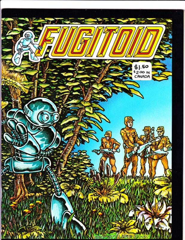 Fugitoid      : 1985 :      : Eastman & Laird Comic! :