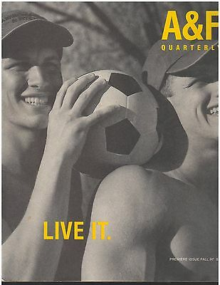 ISSUE 1 Abercrombie & Fitch Catalog LIVE IT Back to School 1997 A&F Bruce Weber