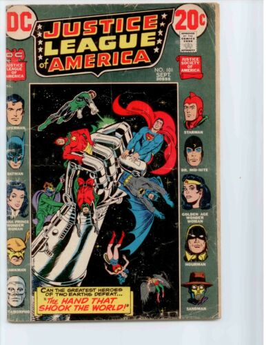 Justice League of America #101 (Sep 1972, DC)