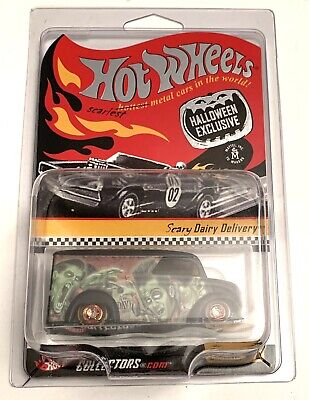 Hot Wheels RLC Halloween Exclusive Scary Dairy Delivery Real Riders #12059/15500