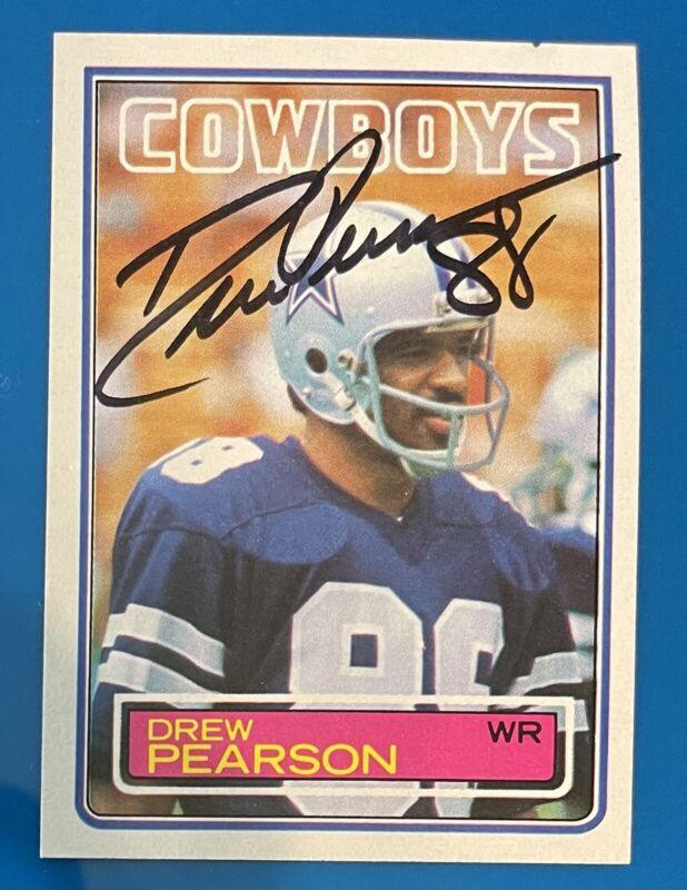 DREW PEARSON-Dallas Cowboys//2005 Topps Fan Favorites Football Card