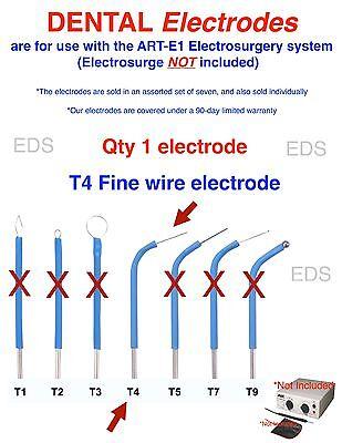 Bonart 1 T4  Dental Electrode - Use With The Art-e1 Electrosurgery System