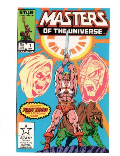 1980s Masters Of The Universe Star Comics #1 Cover Page Promo AD to Frame Heman
