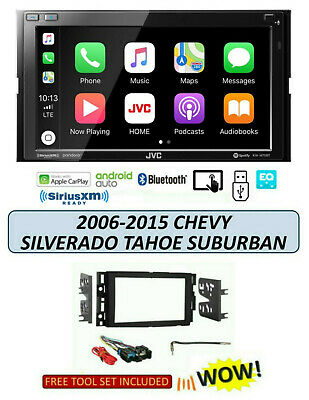 2006-2015 CHEVROLET SILVERADO TAHOE SUBURBAN Stereo TOUCHSCREEN JVC KW-M75BT
