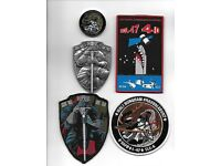 NRO NASA PARKER SBIRS Cape Canaveral Launch Patches //// CYGNUS