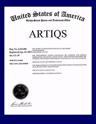 Artiqs Registered Trademarkartantiques Bizdomainebay Storeinventory