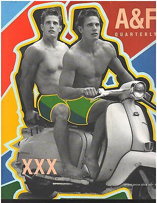 SEALED Abercrombie & Fitch 2001 Spring Break Catalog A&F Quarterly Bruce Weber for sale  Providence