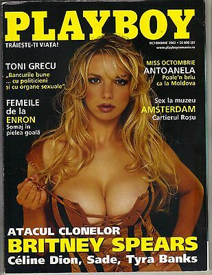 Britney Spears Lookalike Romanian Playboy Magazine 10 02 Tyra Banks Sade Celine