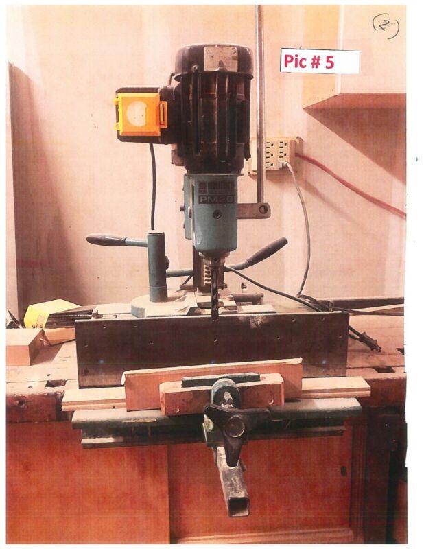 Multico PM 20 Mortiser (Carpentry)