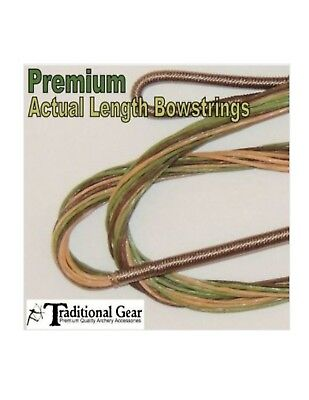 """SILENCERS WAX REST NOCK POINT SAVE! 14 Strand Traditional Bow String 54/"""" AMO"""
