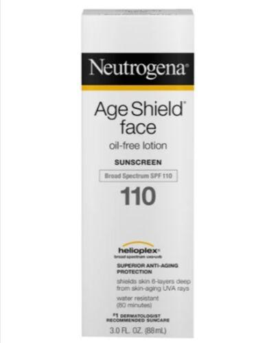 Neutrogena Age Shield Face Sunscreen Lotion ~ SPF 110 ~ 3 oz ~ EXP 1/2020