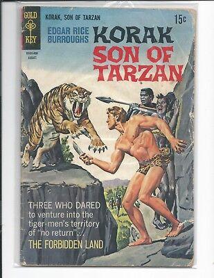 Edgar Rice Burroughs Korak Son of Tarzan # 24    Gold Key