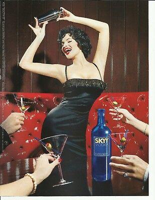 "#59 ""BOOTH 9"" SKYY Vodka- 2001 print magazine ad"