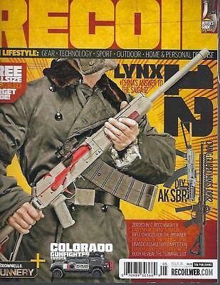 Recoil May 2018  Issue 36    LYNX 12