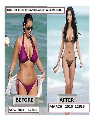 Garcinia Cambogia Melt 100% Pure Extract 80% HCA FAT BURNER