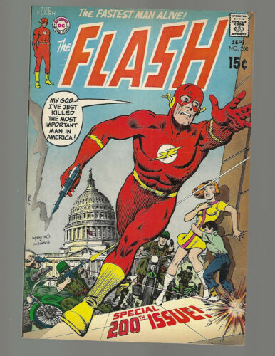 Flash #200 Special 200th Issue