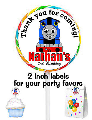 20 THOMAS THE TRAIN BIRTHDAY PARTY FAVORS STICKERS LABELS FOR PARTY FAVORS](Thomas Stickers)