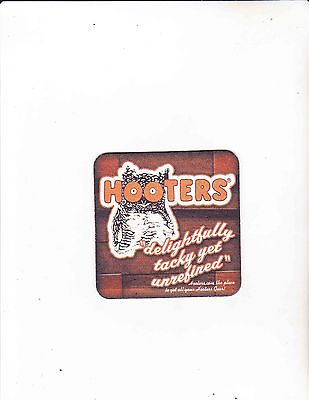 HOOTERS COASTERS - Set of 4