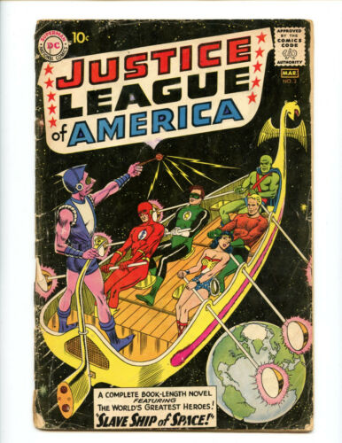 Justice League of America 3 cheapest copy