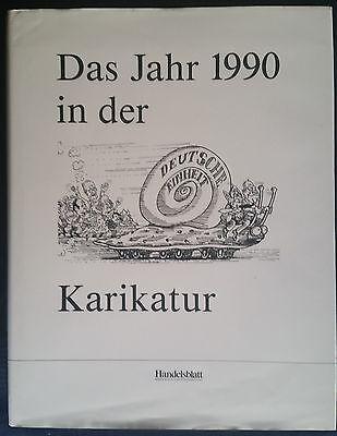 """""""Das Jahr 1990 in der Karikatur"""",  Handelsblatt-Buch"""