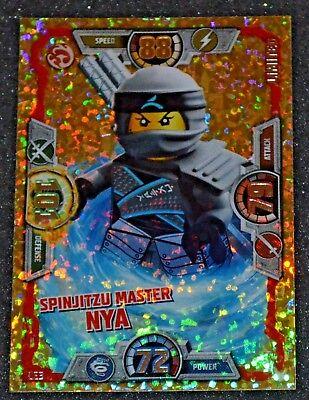 LEGO NINJAGO Limited Edition Trading Card series3 LE3  Spinjitzu Master NYA