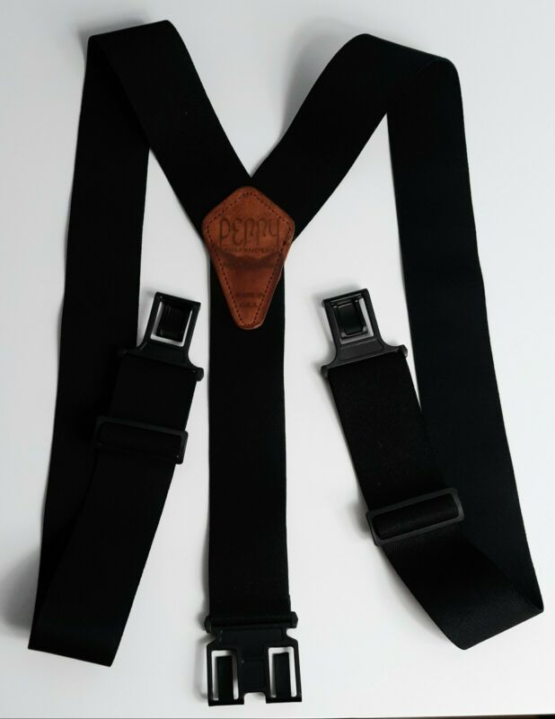 Dickies Mens Perry Suspenders Heavy Duty Adjustable Clip To Belt Y-strap