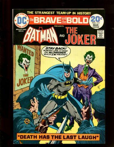BRAVE & THE BOLD #111 (9.2) JOKER COVER!