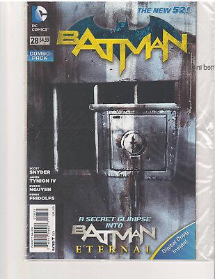 BATMAN #28 COMBO PACK, NEW 52, NM or Better, (DC COMICS, APR