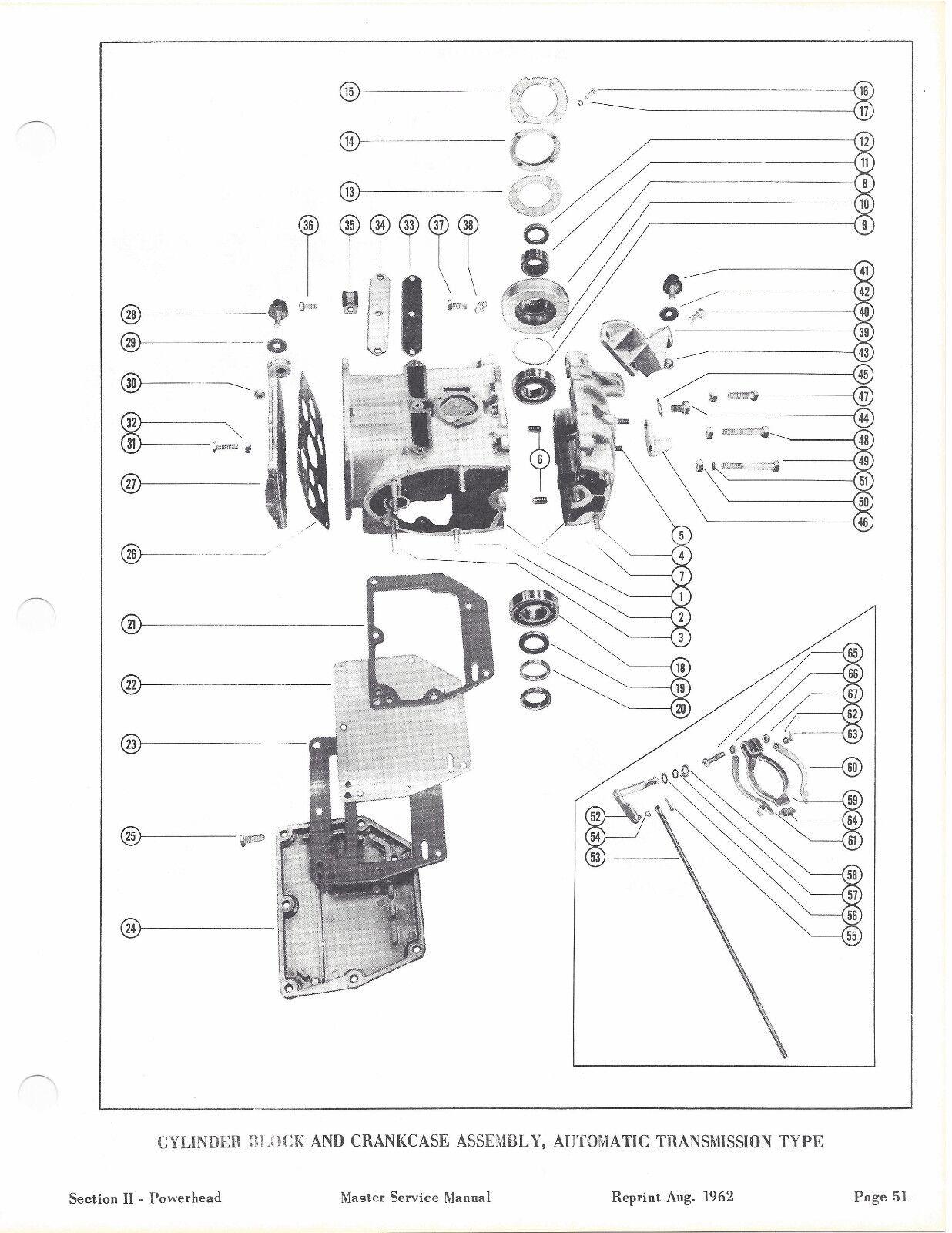 Service Manual Mercury Mark 10 One Word Quickstart Guide Book 75 Hp Mariner Outboard Wiring Diagram 10a 15a Motor 1957 1958 17 Rh Picclick Com Parts