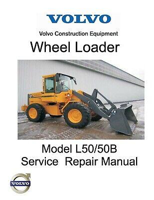 Volvo L50l50b Wheel Loader Workshop Manual