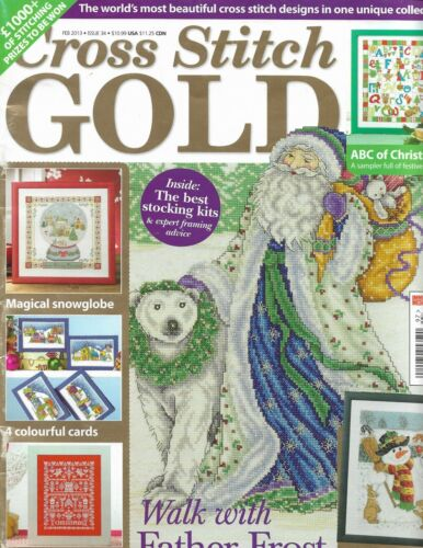 Cross Stitch Gold #34 February 2013 British magazine